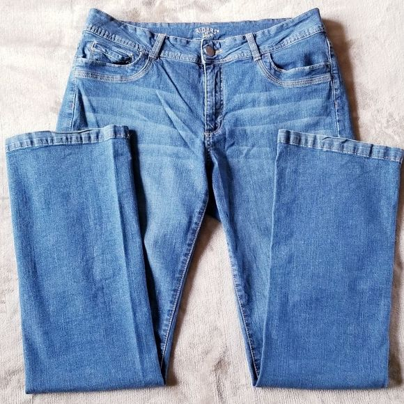 Riders by Lee Denim - Riders by Lee Straight Leg Blue Jeans Size 16L
